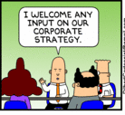 Dilbert - Corporate Strategy