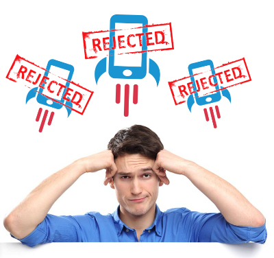 What to do if your mobile app is rejected by App Store.