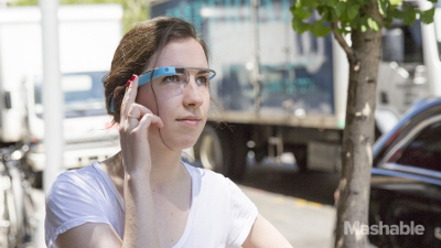 Google Glass in happier times